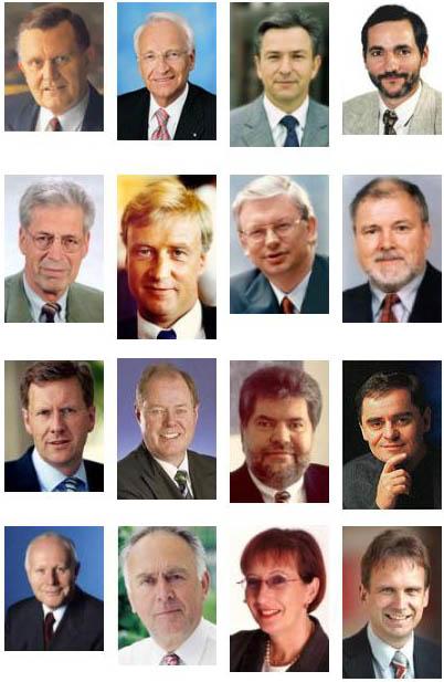 Alle Ministerpräsidenten